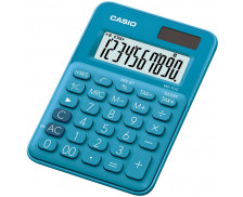 Calculatrice format mini de bureau MS7UC - CASIO - Bleue