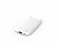 Batterie de secours PowerBank Pebble - MOBILITYLAB - 4000 mAh - Blanc