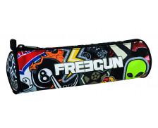 Trousse scolaire ronde Freegun - OBERTHUR - 1 compartiment