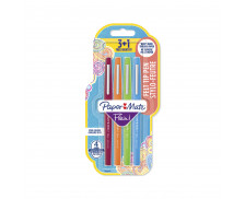 Lot de 4 stylos-feutres Flair Original - PAPERMATE - Pointe moyenne - 4 couleurs