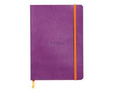 Carnet lignes pointillées - RHODIA - 160 pages - Violet - A5