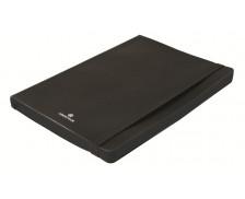 Carnet souple ligné Side - OBERTHUR - 192 pages - A5 - Noir / noir