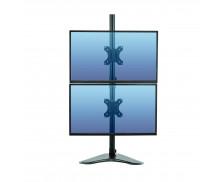 Bras porte-écran double vertical Platinum Series - FELLOWES - Noir