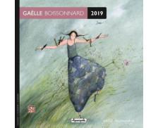 Calendrier Gaëlle Boissonnard - 16 x 16 cm