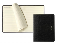 Agenda mensuel 2019  Back to paper Planotes - BREPOLS - 21,9 x 17 cm - Noir