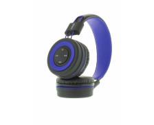 Casque bluetooth Pop - RMUSIC - Noir/Bleu