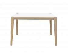 Table de réunion 140 x 140 cm - ABSOLU - Blanc