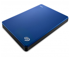 "Disque dur externe Back up Plus - SEAGATE - Slim - 2,5"" - 1 To - Bleu"