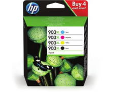 Pack cartouches d'encre HP 903 XL (3HZ51AE) - Noir et couleurs