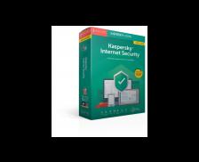 Mise à jour logiciel anti-virus Internet Security - KASPERSKY - 2019 - 3 postes - 1 an