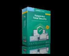 Mise à jour logiciel anti-virus Total Security - KASPERSKY - 2019 - 5 postes - 1 an