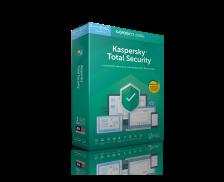 Logiciel anti-virus Total Security - KASPERSKY - 2019 - 5 postes - 2 ans