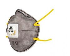 Lot de 2 masques anti-odeur niveau 1 - 3M - Gris