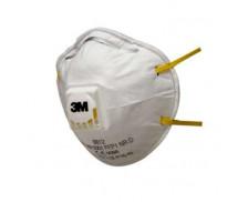 Lot de 2 masques de protection niveau 1 - 3M - Blanc