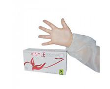 Boîte de 100 gants vinyle non strériles - CENPAC - 7/8 M – Blanc