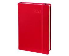 Agenda Daily 24 Prestige Habana - QUO VADIS - 16 x 24 cm - Rouge cerise