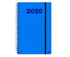 Agenda semainier 2019 Ministre spiralé Oslo - QUO VADIS - 16 x 24 cm - Bleu