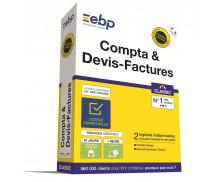 Logiciel Compta & Devis Facture Classic - EBP - 2019