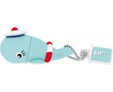 Clé USB - 16Go - EMTEC - Baleine