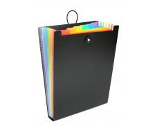Trieur vertical Rainbow Class - VIQUEL - 6 positions - Pour sac à dos - Noir