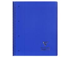 Cahier Koverbook - CLAIREFONTAINE - 160 pages - Grands carreaux Séyès - 22.5 x 29.7 cm - Coloris assortis