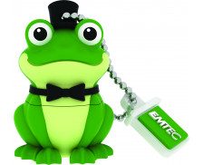 Clé USB Animalitos Crooner Frog  - EMTEC - 16 GO - Vert