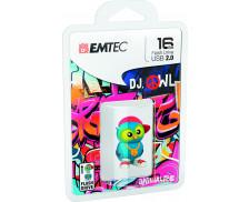Clé USB Animalitos Dj OWl - EMTEC - 16 GO - Bleu