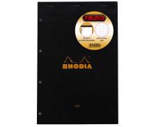Lot de 3 blocs de papier 160 pages - RHODIA - 21x31.8 cm - Grands carreaux Seyès