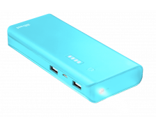 Batterie externe Primo - TRUST - 10000 mAh - Bleu
