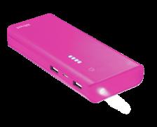 Batterie externe Primo - TRUST - 10000 mAh - Rose