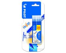 Set de 6 recharges FriXion - PILOT - Bleu
