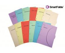 Chemise pack 12 thèmes imprimés 24x32 cm - SMART FOLDER - 6 couleurs
