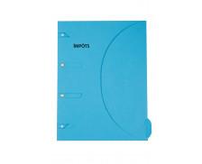 Chemise impôts 24x32 cm - SMART FOLDER - Bleu