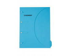 Chemise logement 24x32 cm - SMART FOLDER - Bleu