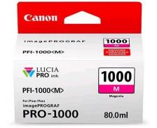 Cartouche d'encre PFI1000M - Canon - Magenta