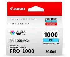 Cartouche d'encre PFI1000PC - Canon - Cyan Photo
