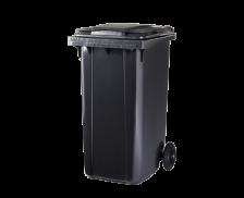 Poubelle conteneur 2 roues - CEP - 240 litres - Gris