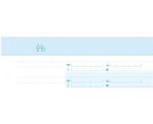 Registre - EXACOMPTA - Bradel répertoire téléphonique et fax - 972E