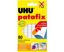 Patafix 80 pastilles adhésives - UHU - Blanche