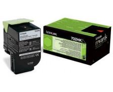 Toner laser 70C2HK0 - Lexmark - Noir - Grande Capacité