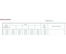 Journal centraliseur 2 ans - 6590E - EXACOMPTA - 32 x 25 cm
