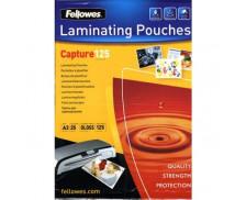 25 Pochettes de Plastification Brillantes FELLOWES A3 - 125 Microns