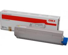 Toner laser 44844613 - Oki - Jaune