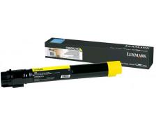 Toner laser C950X2YG - Lexmark - Jaune - Grande Capacite