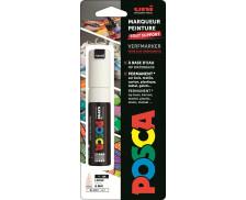 Marqueur peinture tout support - UNI POSCA - Pointe large - Blanc