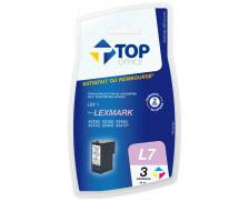 Cartouche d'encre compatible LEXMARK 18C0781 - 3 couleurs