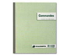 Carnet de commande dupli - 13104E - EXACOMPTA - 21 x 18 cm