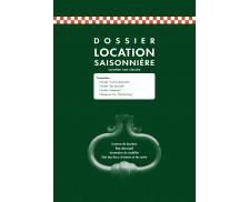 Contrat de location - EXACOMPTA - Dossier pour location saisonnière - 48E