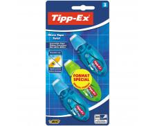 Lot de 3 rollers de correction Micro Tape Twist - TIPP-EX - 8 mètres - Format spécial