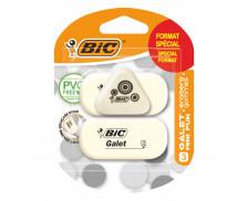 Lot de 3 gommes galet Mini Fun - BIC - Format spécial